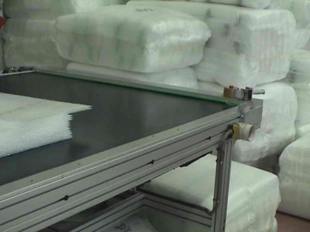 Stroji za predelavo PE penastih materialov